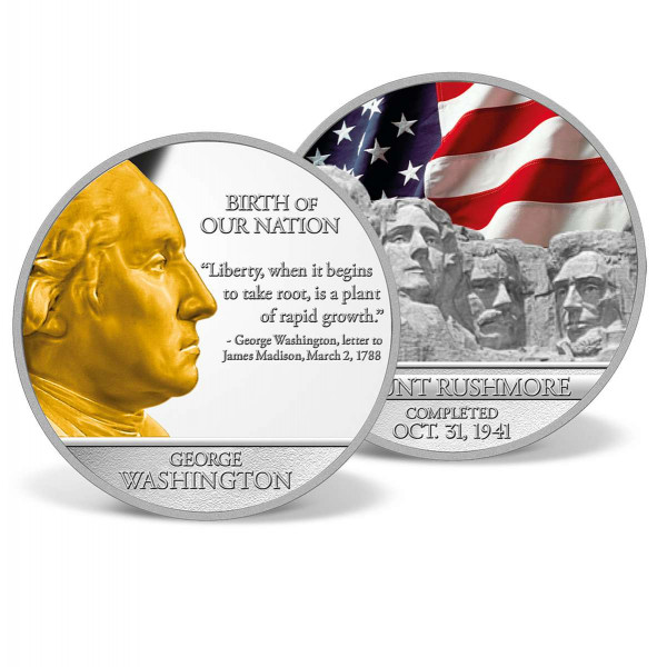 George Washington - Mount Rushmore Commemorative Coin US_8200900_1