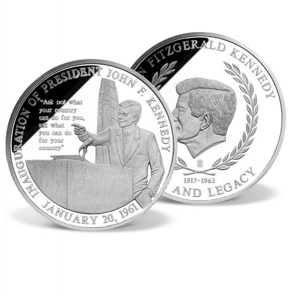 John F. Kennedy Inaugural Speech Commemorative Coin US_2341311_1