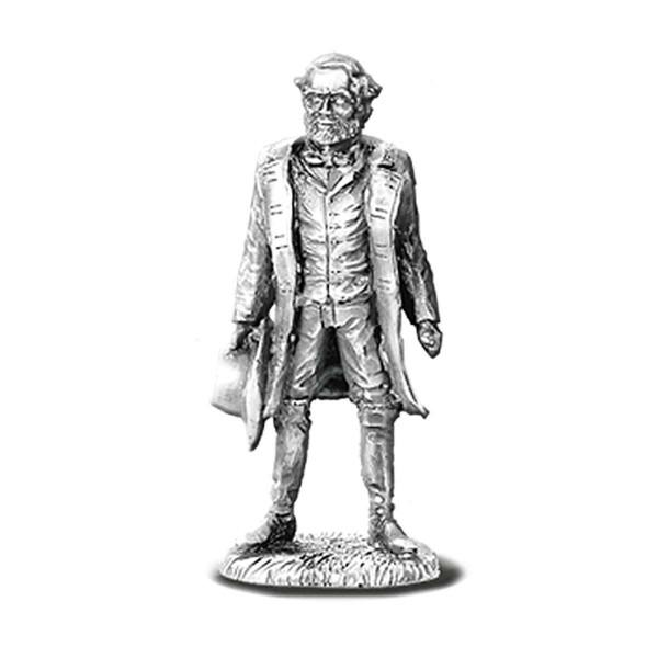 Robert E. Lee Pewter Figurine US_7640006_1