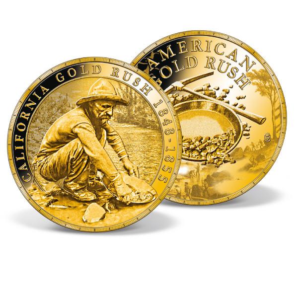 California Gold Rush Commemorative Gold Coin