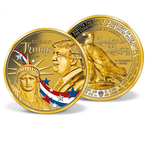 Donald Trump Colossal Commemorative Coin