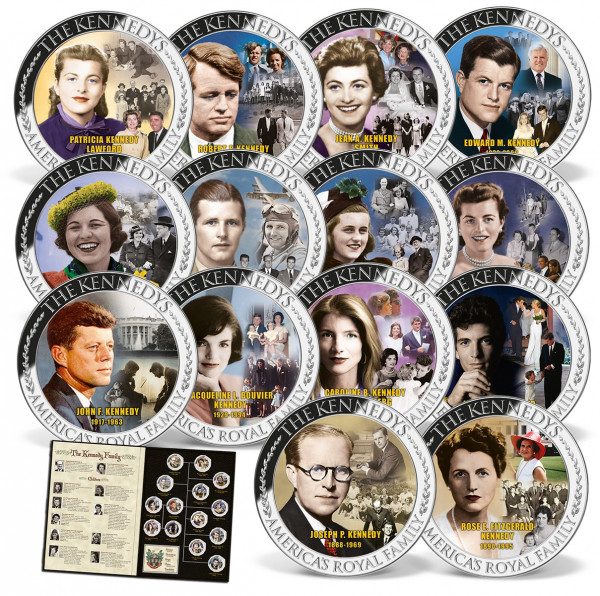 Kennedy Family Complete 14-coin Set US_1712035_1