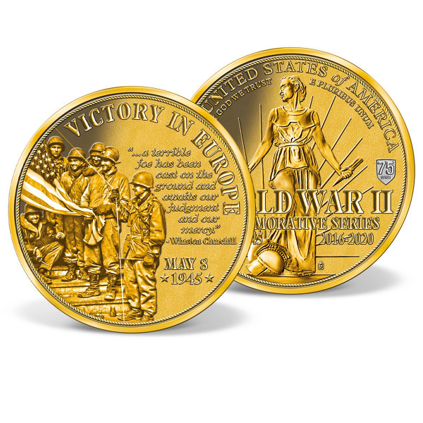 Victory in Europe Commemorative Coin