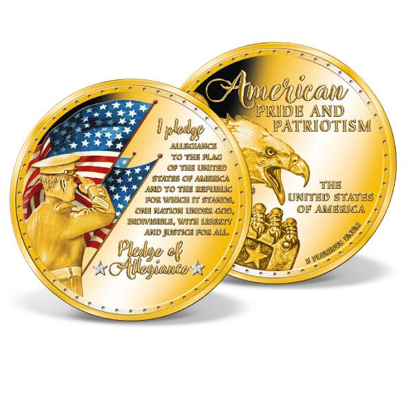Pledge of Allegiance Colossal Commemorative Coin