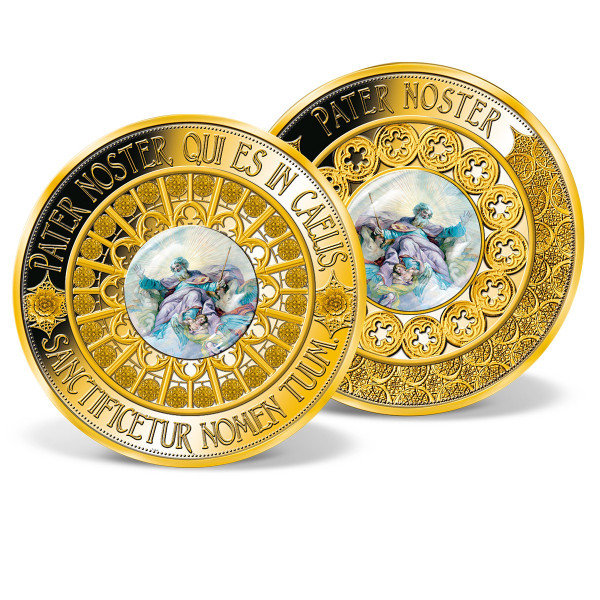 The Lord's Prayer Colossal Commemorative Coin US_9533801_1