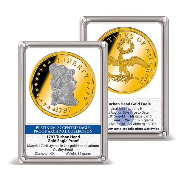 1797 Turban Head Gold Eagle Replica Archival Edition US_8220154_1