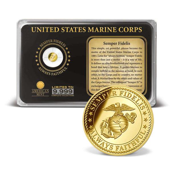 Semper Fidelis Gold Coin Tribute US_2160395_1