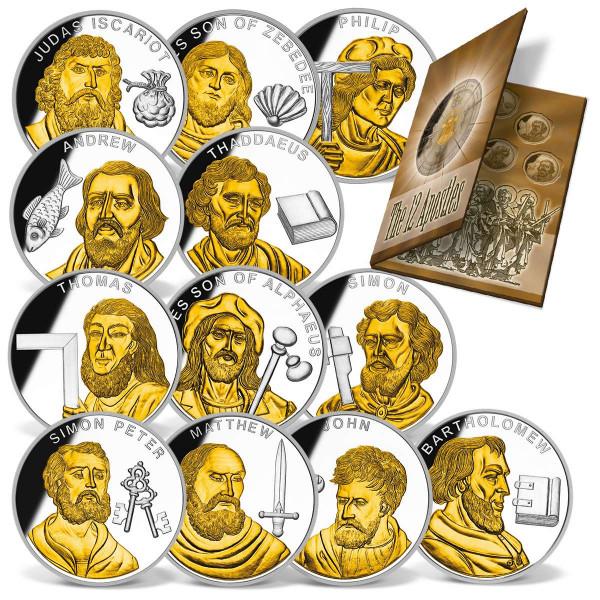 Commemorative coin set 'twelve apostles' US_9035155_1