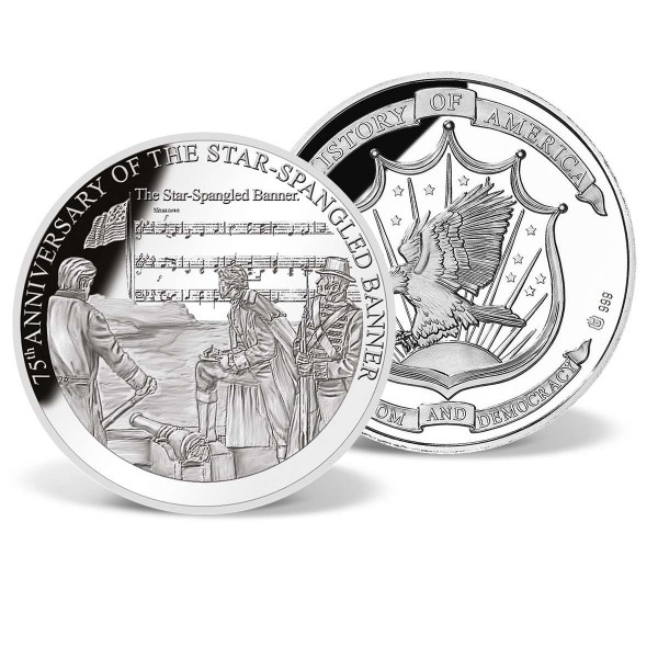 Star-Spangled Banner Anniversary Commemorative Coin US_8201180_1