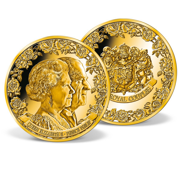 Queen Elizabeth II and Prince Philip Commemorative Coin US_8328704_1