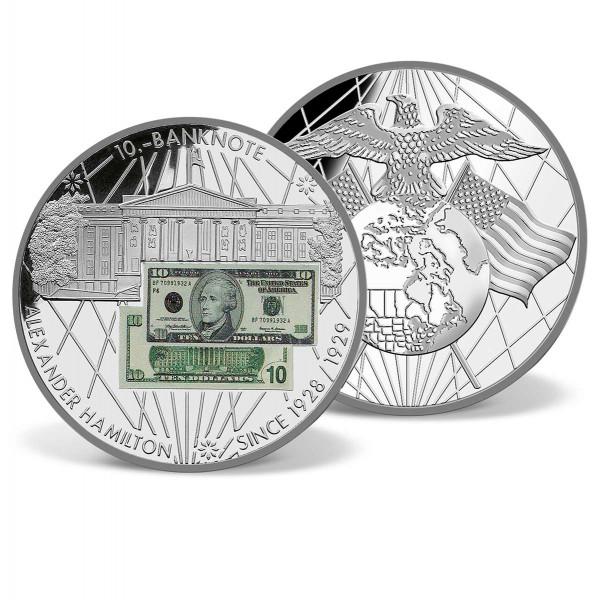 $10 Alexander Hamilton Banknote Commemorative Coin US_9184032_1