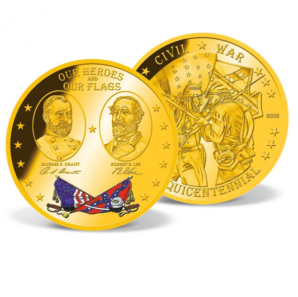 Heroes and Flags of the Civil War Commemorative Coin US_9172156_1