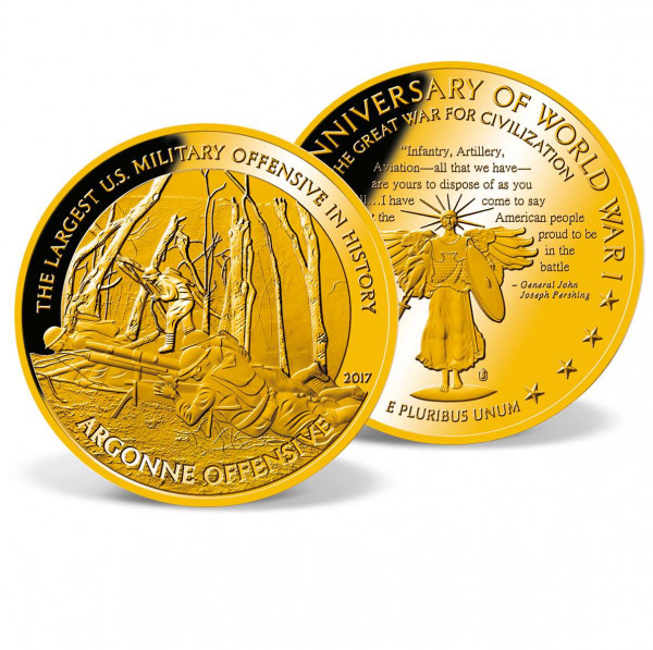 Argonne Offensive Colossal Commemorative Coin US_1701821_1