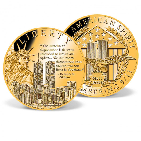 Liberty Remembering 9/11 Commemorative Coin US_9175098_1