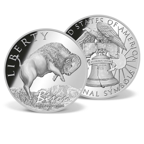 Bison - National Mammal Commemorative Coin US_9175651_1