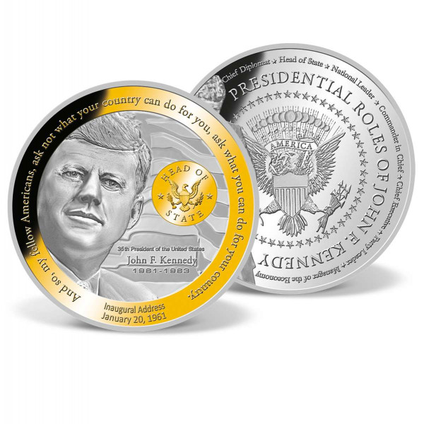 JFK - Head of State Commemorative Coin US_9175550_1