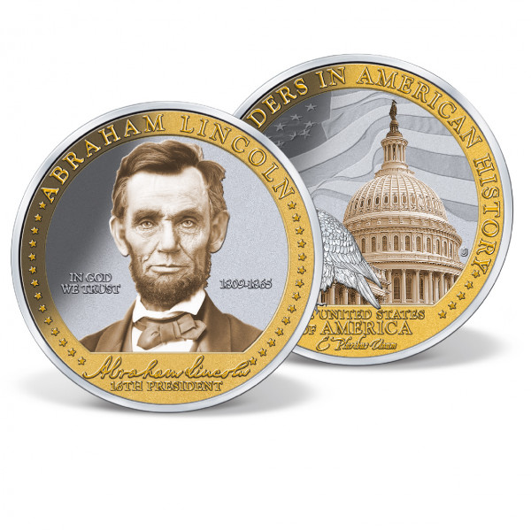 Abraham Lincoln - Great Leader Commemorative Coin
