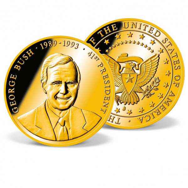George Bush Commemorative Coin US_1711436_1