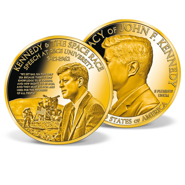 Kennedy and the Space Race Colossal Commemorative Coin US_2512753_1