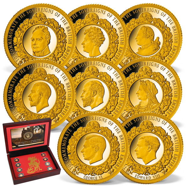 The British Empire Complete Gold Set US_1739150_1