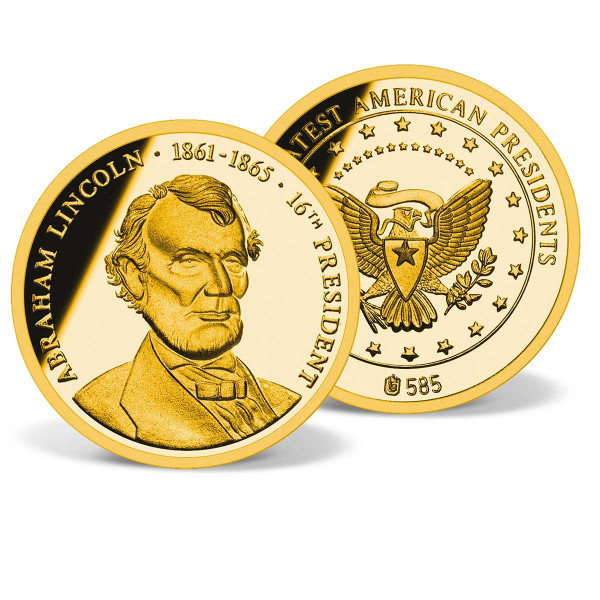 Abraham Lincoln Commemorative Gold Coin US_1711531_1