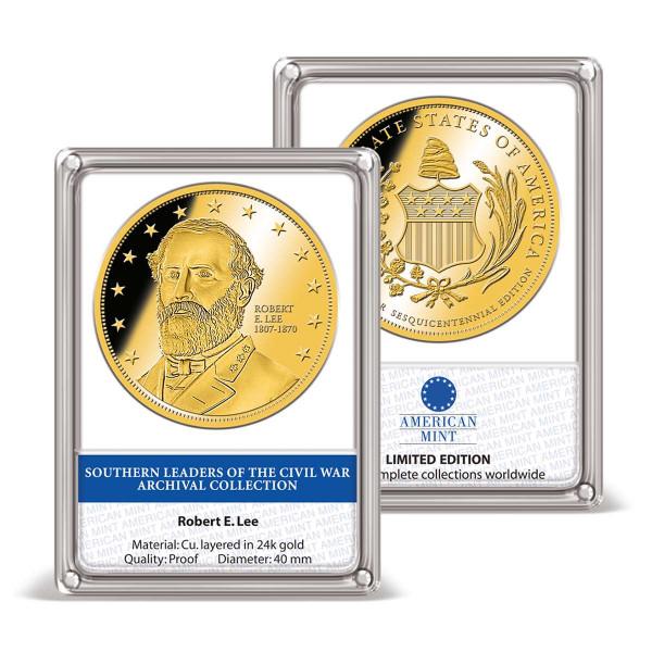 Robert E. Lee Archival Edition Commemorative Coin US_9171610_1