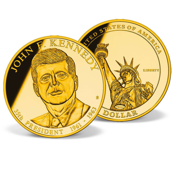 John F. Kennedy Presidential Dollar Trial US_9170476_1