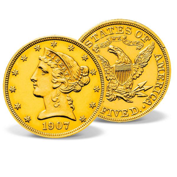 1907 Gold Liberty Head Quarter Eagle US_2717939_1