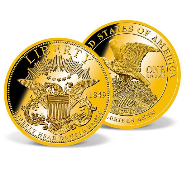 1849 Double Eagle Dollar Trial