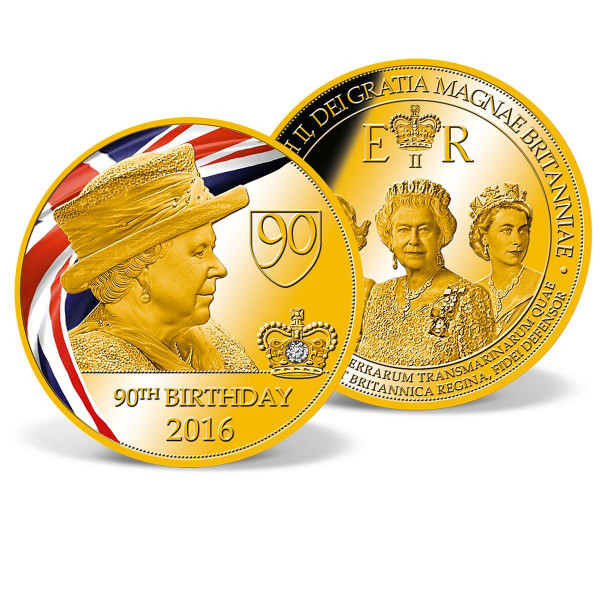 Queen Elizabeth II - 90th Birthday Commemorative Coin US_9173151_1