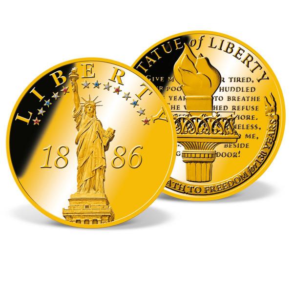 Statue of Liberty Anniversary Jumbo Commemorative Coin US_9172860_1