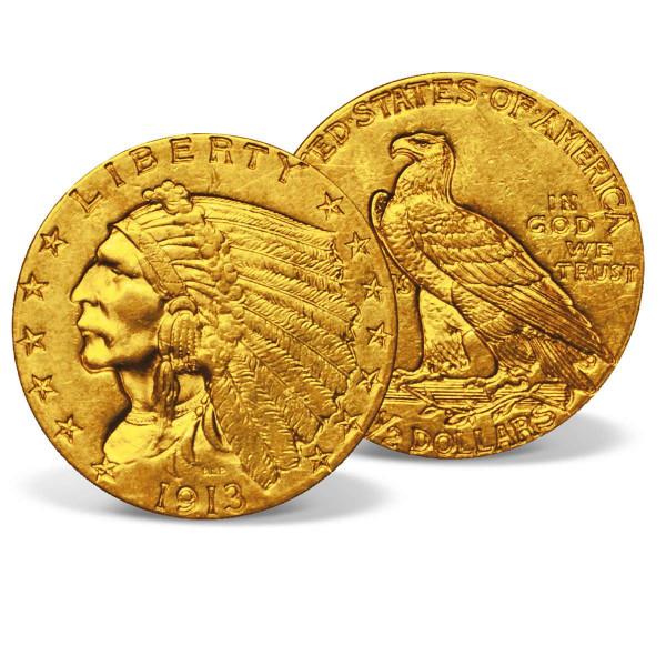 1913 Indian Head Gold Quarter Eagle US_2530175_1