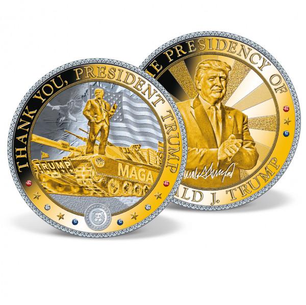 Thank You, President Trump Jumbo Commemorative Coin