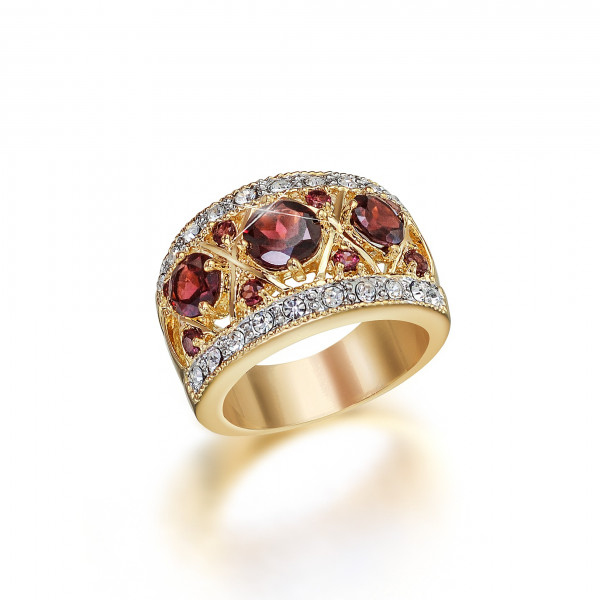 Imperial Crown Garnet Ring US_3335750_1