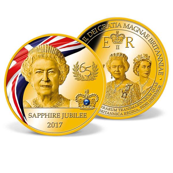 Queen Elizabeth II - Sapphire Jubilee Commemorative Coin US_9173167_1