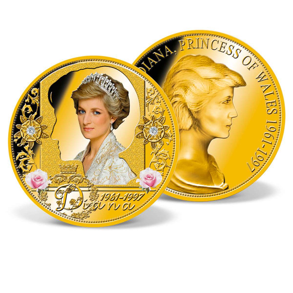 Diana 1961-1997 Crystal-inlaid Commemorative Coin US_1950881_1