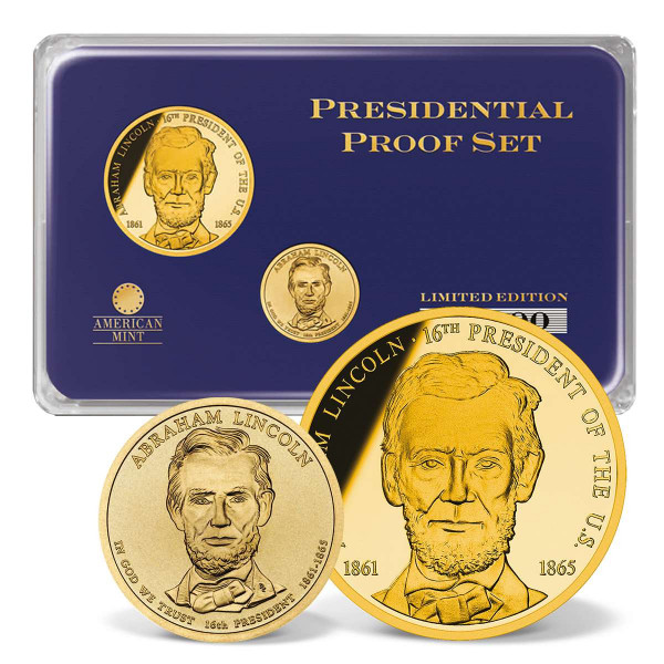 Abraham Lincoln Presidential Commemorative Coin Set US_1702018_1