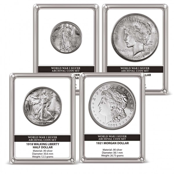 World War I Archival Silver Coin Set US_2719639_1