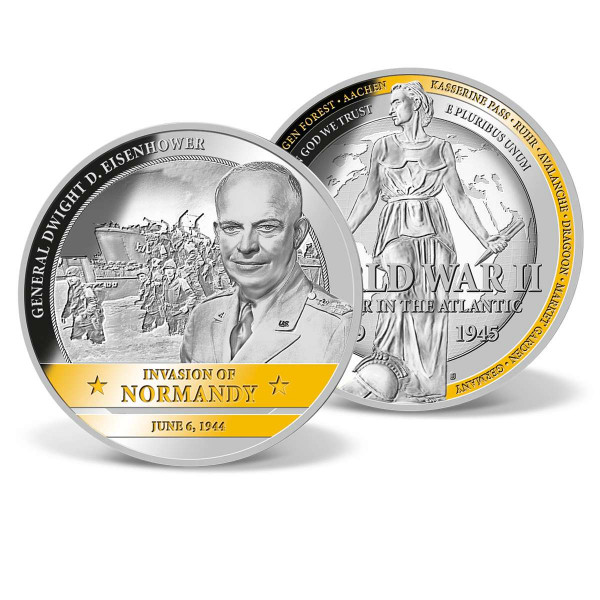 Invasion of Normandy Commemorative Coin US_1710801_1
