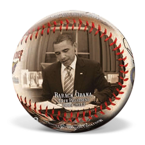 Barack Obama Commander Chief Commemorative Baseball US_4800072_1