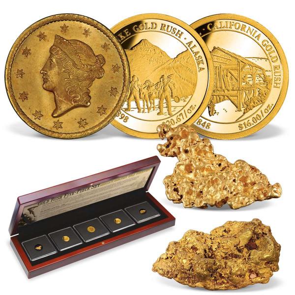 'Gold Rush' 5-Piece Set US_2711208_1