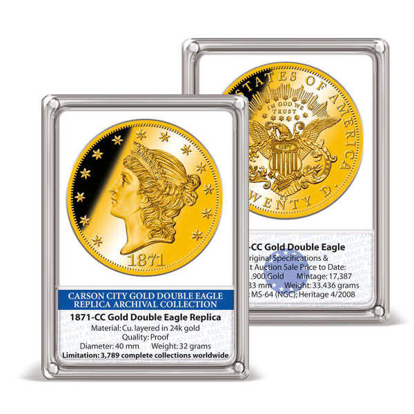 1849-C Gold Liberty Head Dollar Replica US_9173804_1