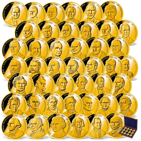 The Complete Presidents of the United States Coin Set US_1711469_1