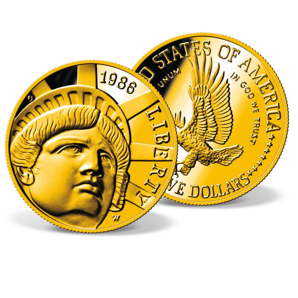 1986 $5 Statue of Liberty Gold Coin US_2711470_1