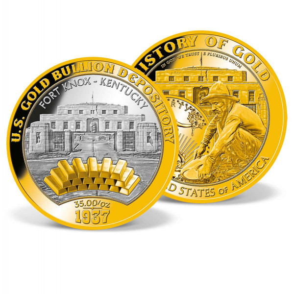 U.S. Gold Depository - Fort Knox Commemorative Coin US_9175775_1