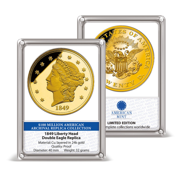 1849 Liberty Head Double Eagle Replica Archival Edition US_8201323_1