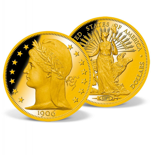 1906 Gold Double Eagle Pattern Replica US_8300480_1
