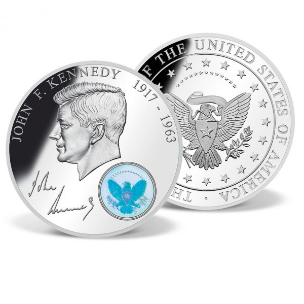 John F. Kennedy with Hologram Commemorative Coin US_1701610_1