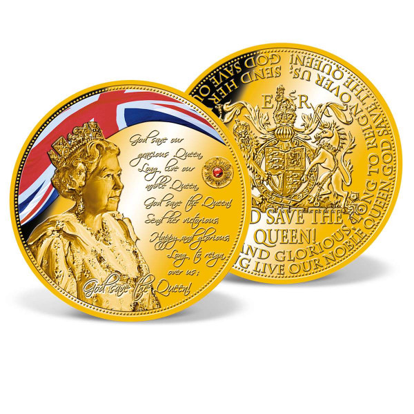 God Save the Queen Colossal Commemorative Coin US_9173191_1