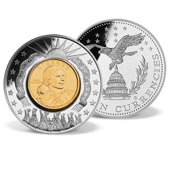 Sacagawea Dollar Inlay Coin US_9172100_1